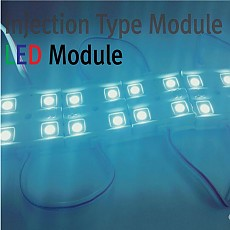 LED MODULE 5050 4구 Injection Type(사각형타입)